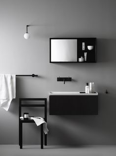 vosgesparis: Bathroom insiration | Scandinavian designers for Korean Lagom