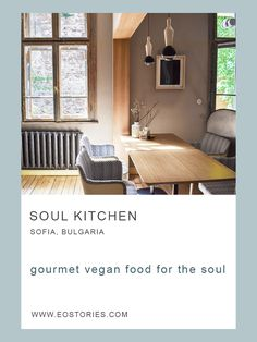 Soul Kitchen is a vegan oasis in the heart of the city and a paradise for the soul and all the sense. Bulgaria is not the easiest place to be vegetarian or vegan but thankfully there are lot… Sofia Bulgaria, Travel Around Europe, Cooking Classes, Foodie Travel, Soul Food, Oasis, Caribbean, Foodies, Tourism