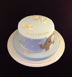 New Baby Cake for a boy
