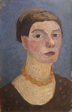Paula Modersohn-Becker. Self-portrait. Copyright: © Rheinisches Bildarchiv, Koln.