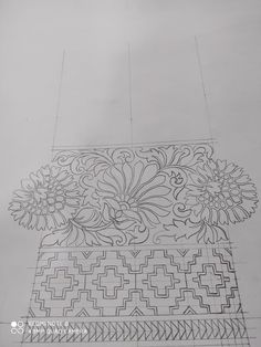 Indian Embroidery Designs, Crewel Embroidery Kits, Art Patterns, Pattern Art, Pattern Design, Aluminum Foil Art, Saree Border, Bridal Lehenga, Indian Outfits