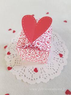 Boite cadeaux - Pack Festif Saint-Valentin