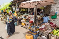 The spice and food market of Zanzibar African Vacation, Stone Town, Losing You, Tour Guide, Spice, Tanzania, Globe, Food, Travel