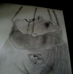 gothic pencil sketch