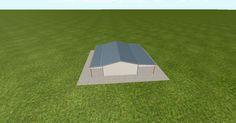 Dream #steelbuilding built using the #MuellerInc web-based 3D #design tool http://ift.tt/1QFC0wC