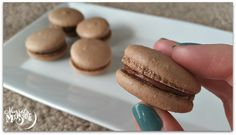 Vegan Macarons: Chocolate & Amaretto — Morsels & Moonshine . . . didn't even know this was possible