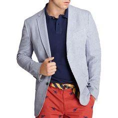 Polo - Pantalon rouge !