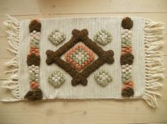Swedish vintage Handmade pillow cover Geometric by TextilesVintage, $12.00