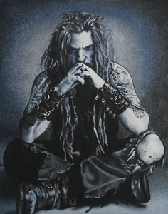 | Rob Zombie - Coloured Pencil Drawing | Flickr - Photo Sharing!