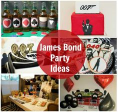 James Bond Party Ideas #007 #JamesBond #Parties