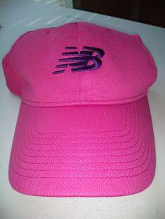 New Balance Running Pink Purple Velcro Adjustable Ball Cap Hat Women s One  Size  fashion 1ab362413494