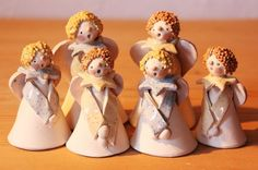 de ce_photo html image. Christmas Clay, Xmas, Clay Angel, Pottery Angels, Cute Clay, Sculpture Clay, Pottery Studio, Air Dry Clay, Clay Projects
