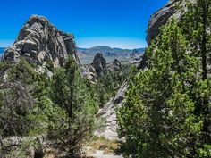 Idaho's City of Rocks National Reserve. This unique area in southern Idaho is filled with granite spires and is home to some of the best rock climbing in the world.