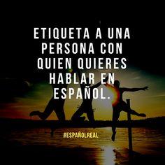 Tienes amigos familiares colegas que hablen español? :D  #EspañolReal #hablarespañol #spanish #spagnolo #spaans #espagnol #espanhol #learnspanish #eñe