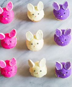 how to make Bunny Cupcakes! : scrumptious vanilla-almond cupcakes with an almond buttercream