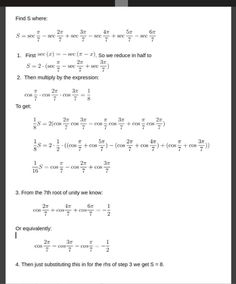 eyleMMath - Calculus Algebraic Geometry, Science, Calculus, How To Get, Math Equations, This Or That Questions