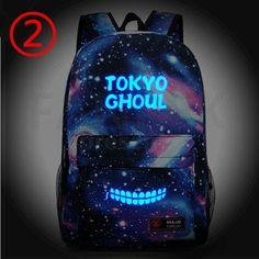 Tokyo Ghoul Kaneki Ken Glow In Dark School Shoulder Bag
