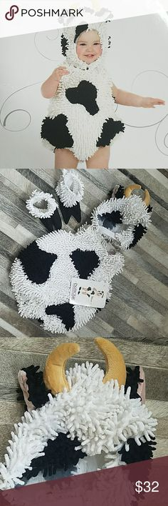 NWT Princess Paradise Kelly the Cow Costume. Adorable Kelly the Cow costume!!  Size 18 mths-2T. Princess Paradise Costumes Halloween