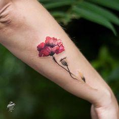 50+ Enchanting Flower Tattoos For Fall