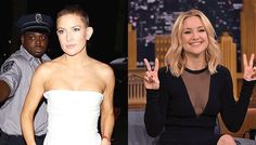 KATE HUDSON IS BEING BULLIED BY INTERNET TROLLS FOLLOWING HER NEW BUZZCUT! More on celebsgo.com #katehudson #buzzcut
