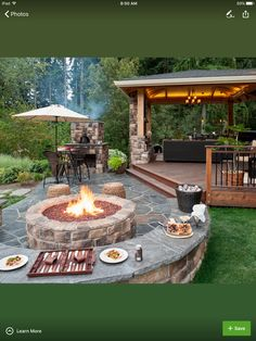 Spend Some Time On Patio With Fire Pit : Outdoor Patio Ideas With Fire Pit.  Outdoor Patio Ideas With Fire Pit.