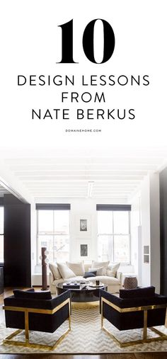 10 lessons we learned from Nate Berkus 9 – Interior design Photo Gallery Apartment Interior Design, Interior Design Tips, Interior Design Inspiration, Interior Decorating, Nate Berkus, My Living Room, Living Spaces, Eames, Piece A Vivre