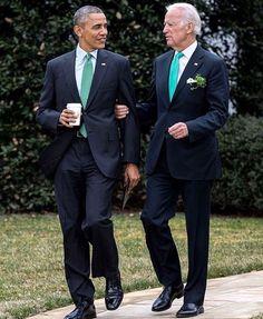 President Barack Obama and Vice President Joe Biden.