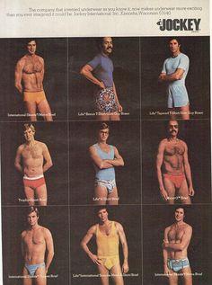 En la semana de mi cumple publicare 3 colecciones de anuncios vintage que  te dejarán boquiabierto · Men s BriefsBriefs ... c60ad739dafeb