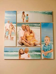 posting pictures on the wall