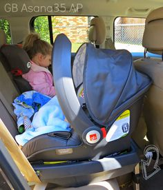 GB Asana35 AP Car Seat Review | Car seats, Infant seat and Infant