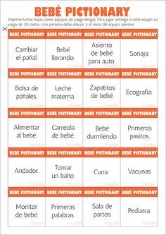 Bebé pictionary color anaranjado