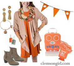Clemson Girl - Check out L Mae Boutique for Clemson gameday apparel and enter in GIVEAWAY to win this retro style radio! Clemson Shirts, Football Is Life, Clemson Tigers, National Championship, Retro Style, Giveaways, Stitch Fix, Retro Fashion, Cute Outfits