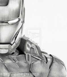 easy ironman drawing - Google Search
