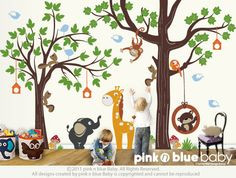 Favorite  Like this item?    Add it to your favorites to revisit it later.  Wall decals : Make a Playroom with our ORIGINAL PLAYROOM Nursery Kids Removable Wall Vinyl Decal - All Kids love this