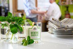 Menthe Basilic - #LaBelleMeche #BougieParfumee #ScentedCandle #lifestyle - Photographe : Blaise Arnold - Production : La Fabrique de Mai