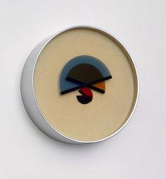 Bruno Munari – 'L'Ora X' Wall Clock for Bruno Danese, 1945.