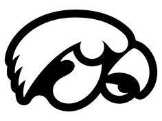 How To Draw A Hawkeye Symbol Google Search Iowa Hawkeye Silhouette Machine Logo Silhouette