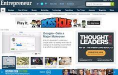 Entrepreneur this site provides information about the world of entrepreneurship.