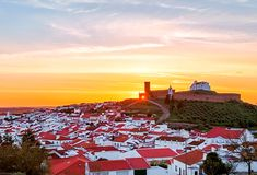 Sunset, Arraiolos, Alentejo, Portugal
