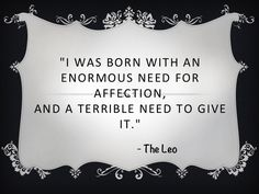Star Sign Quotes  Leo ♌