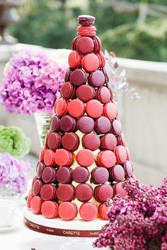French-macron cake @weddingchicks