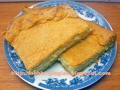 Τυρόπιτα με τραγανό σπιτικό φύλλο (κουρού) - από «Τα φαγητά της γιαγιάς» Cheese Pies, Spanakopita, Cornbread, Snacks, Cooking, Ethnic Recipes, Desserts, Food, Happy