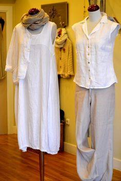 "Dress ""Stella"", T-shirt ""Rita"" and Trouser ""Pietes"""