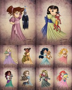 Little princesses. This is so cute!