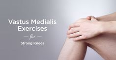 Strengthening your vastus medialis oblique using these exercises will help stabilize and protect your knee. Original article and pict. Patellar Tendonitis Exercises, Knee Pain Exercises, Muscle Stretches, Vastus Medialis Exercises, Umbilical Hernia Repair, How To Strengthen Knees, Senior Fitness, At Home Workout Plan, Workout Machines