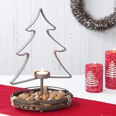 Christmas Treat Dish And Candle Holder - lighting