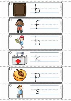 FREE Word Family Word Work Unit - IT. A page from the unit: write and wipe cards
