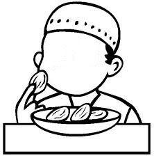 A Muslim home school: Good Adhab week 7 - Say Alhamdulillah when we eat and drink!