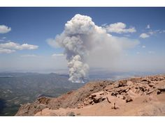 View from Pikes Peak - Saturday June 23rd
