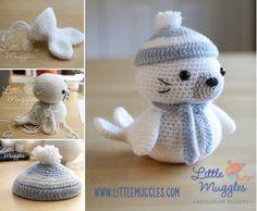 Sammy The Seal Amigurumi Free Crochet Pattern